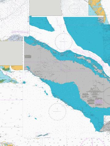 Cuba  Middle Sheet Marine Chart - Nautical Charts App