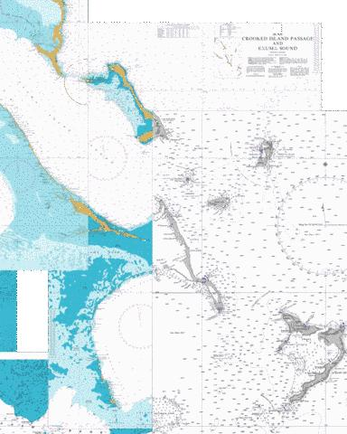 Crooked Island Passage and Exuma Sound Marine Chart - Nautical Charts App