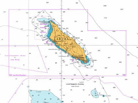 how to read latitude and longitude on a nautical chart