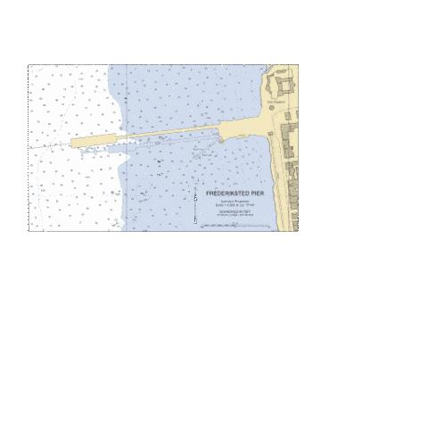 FREDERIKSTED PIER Marine Chart - Nautical Charts App