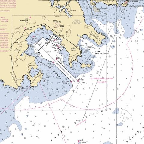 ENSENADA HONDA Marine Chart - Nautical Charts App