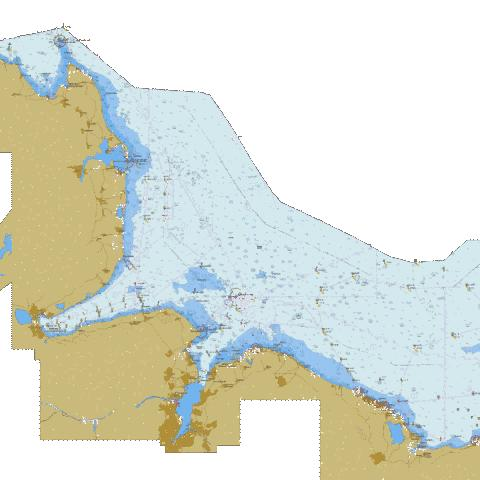 Waters north of Kiel Marine Chart - Nautical Charts App
