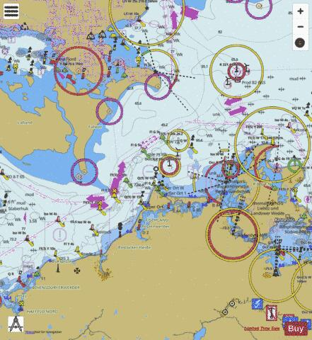WATERS WEST OF RUEGEN Marine Chart - Nautical Charts App