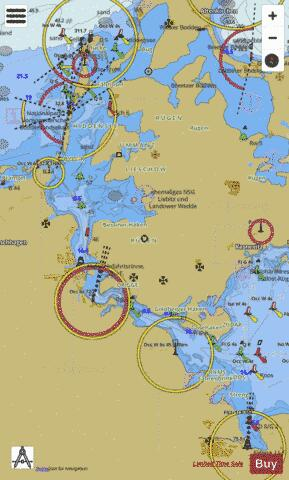 STRALSUND APPROACHES Marine Chart - Nautical Charts App
