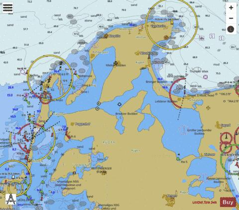 NORTHERN COASTAL WATERS OF RUEGEN Marine Chart - Nautical Charts App