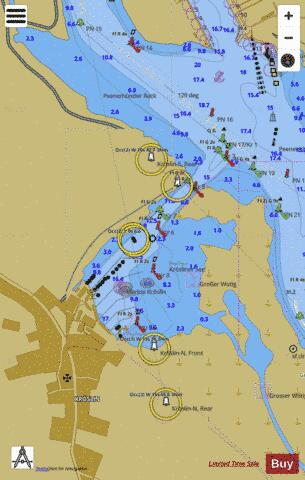 KROESLIN Marine Chart - Nautical Charts App
