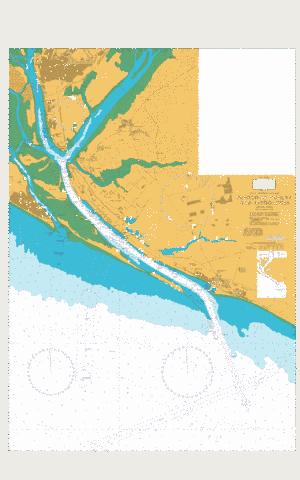 Puerto de Huelva and Approaches Marine Chart - Nautical Charts App