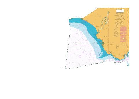 Cabo de Sao Vicente to the Strait of Gibraltar Marine Chart - Nautical Charts App