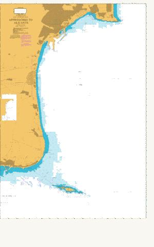 Approaches to Alicante Marine Chart - Nautical Charts App