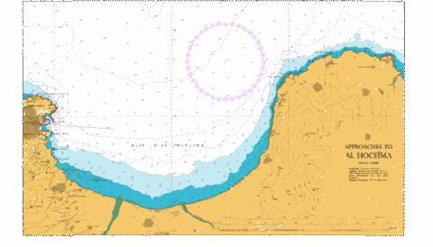 B Approaches to Al Hoceima Marine Chart - Nautical Charts App