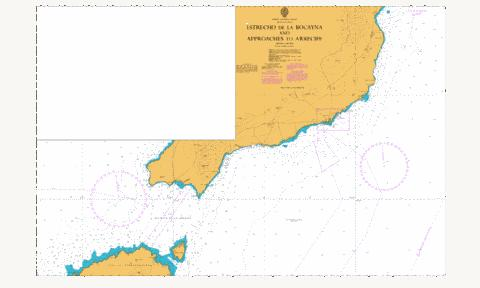 Estrecho de la Bocayna and Approaches to Arrecife Marine Chart - Nautical Charts App