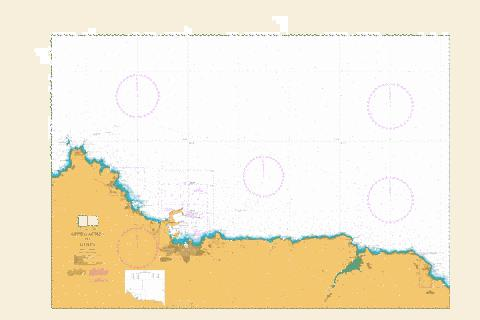 Approaches to Gijon Marine Chart - Nautical Charts App