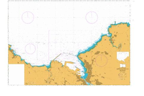 Approaches to Bilbao Marine Chart - Nautical Charts App