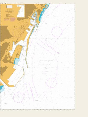 Barcelona Marine Chart - Nautical Charts App