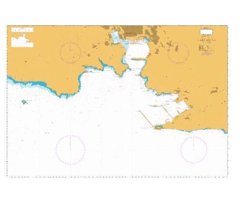 Cartagena Marine Chart - Nautical Charts App