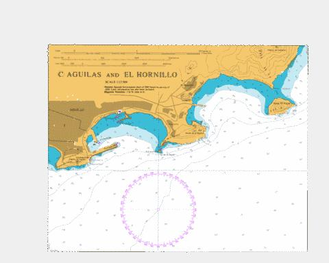 C  Aguilas and El Hornillo Marine Chart - Nautical Charts App