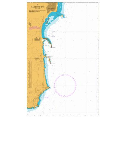 E  Carboneras Marine Chart - Nautical Charts App