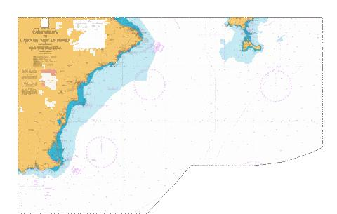 Cartagena to Cabo de San Antonio including Isla Formentera Marine Chart - Nautical Charts App