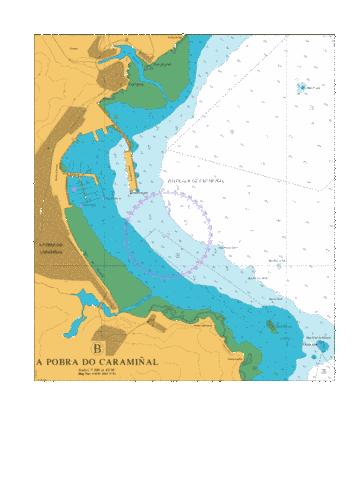 B  A Pobra do Caraminal Marine Chart - Nautical Charts App