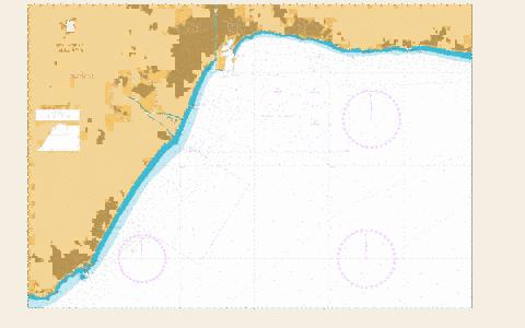 Approaches to Malaga Marine Chart - Nautical Charts App