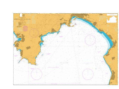 Approaches to Palma Marine Chart - Nautical Charts App