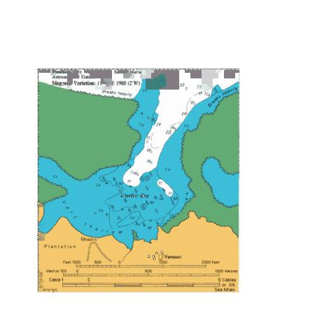 Lesalav Bay Marine Chart - Nautical Charts App