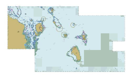 South pacific ocean fiji viti levu east caost to nairai island south pacific ocean fiji viti levu east caost to nairai island marine chart gumiabroncs Images