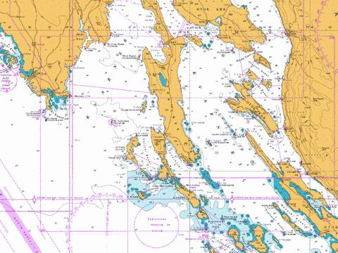 Kvarner, Kvarneric and Velebitski Kanal Marine Chart - Nautical Charts App