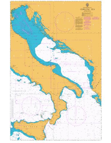 Adriatic Sea Marine Chart - Nautical Charts App