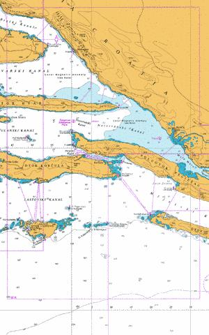 Otocic  Glavat to Ploce and Makarska Marine Chart - Nautical Charts App