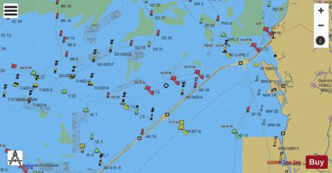 Inland Waterways : 1R5YM001 Marine Chart - Nautical Charts App