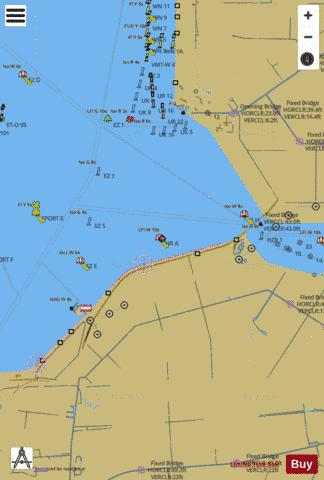 Inland Waterways : 1R5YM009 Marine Chart - Nautical Charts App