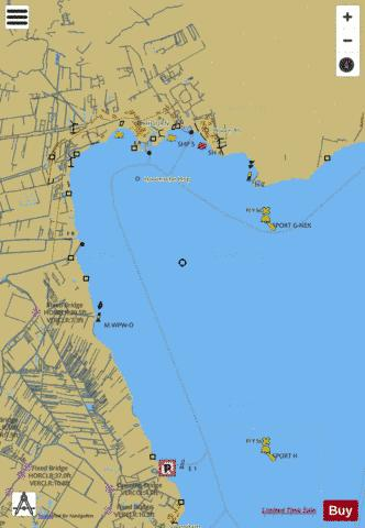 Inland Waterways : 1R5YM012 Marine Chart - Nautical Charts App