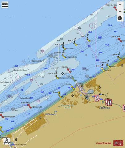 Beneden-Nete : BE7EV003 Marine Chart - Nautical Charts App