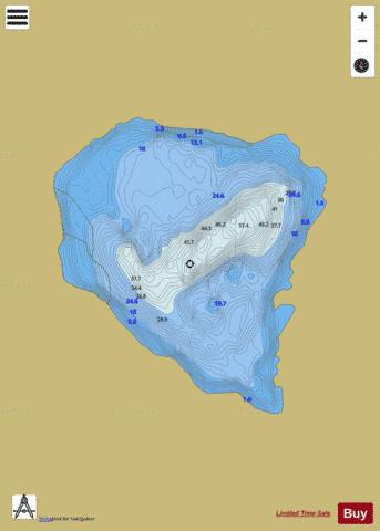 Muck ( Lough ) Fishing Map - i-Boating App