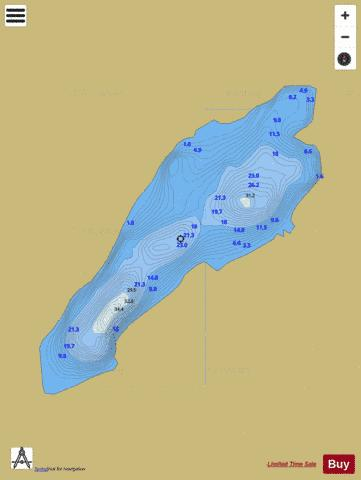 Eirk Lough Fishing Map - i-Boating App