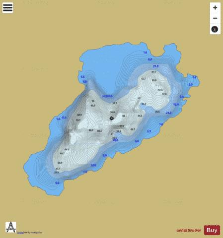 Coomrooanig Lough Fishing Map - i-Boating App