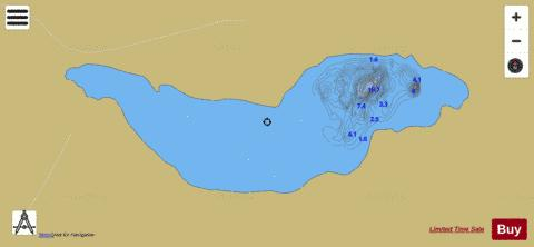 Kiltullagh Lough Fishing Map - i-Boating App