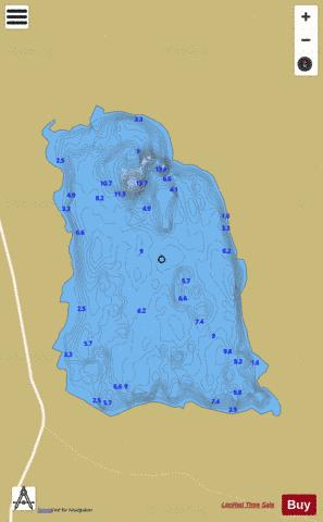 Maumwee Lough Fishing Map - i-Boating App