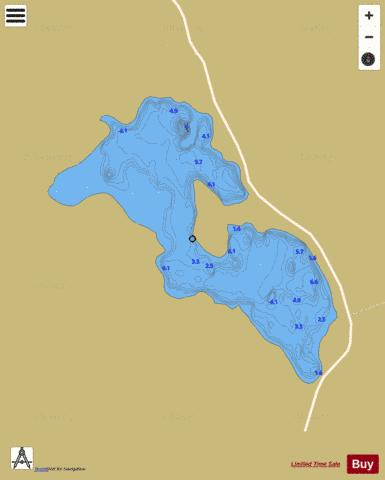 Aughawoolia ( Lough ) Fishing Map - i-Boating App
