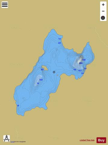 Aclogher ( Lough ) Fishing Map - i-Boating App