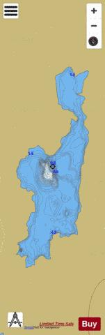 Loughanillaunmore Fishing Map - i-Boating App