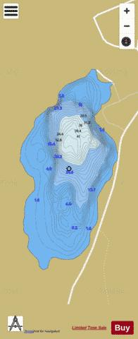 Fin Lough Fishing Map - i-Boating App