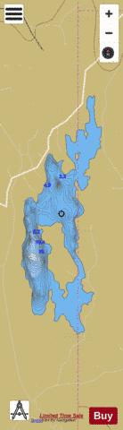 Anure ( Lough ) Fishing Map - i-Boating App