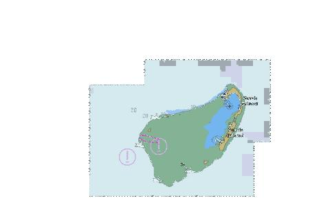 Indian Ocean - Islands North of Madagascar - Farquhar Group Marine Chart - Nautical Charts App