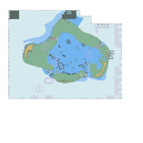 Cosmoledo Group Marine Chart - Nautical Charts App