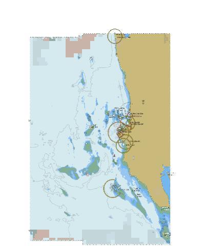 Map Of Africa Zanzibar.Africa East Coast Tanzania Zanzibar Island Approaches To