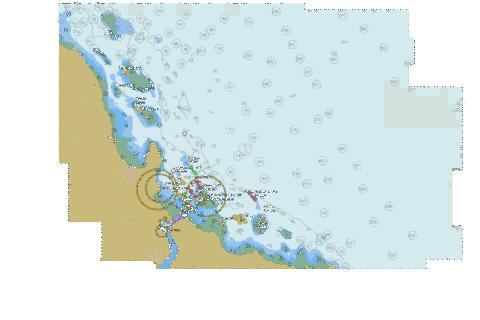 Africa - East Coast - Tanzania - Approaches to Dar Es Salaam Marine Chart - Nautical Charts App