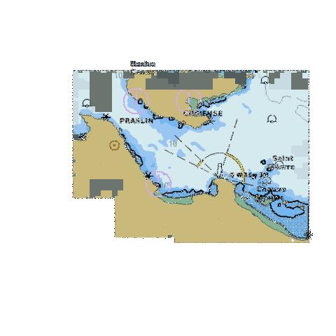 ENC CELL - Indian Ocean - Seychelles Group - Baie Curieuse Marine Chart - Nautical Charts App