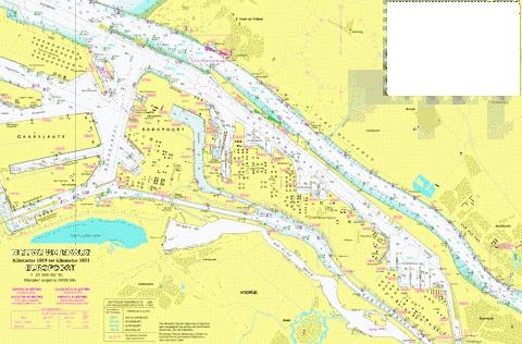 18093 - Nieuwe waterweg. Kilometer 1019 to Marine Chart - Nautical Charts App